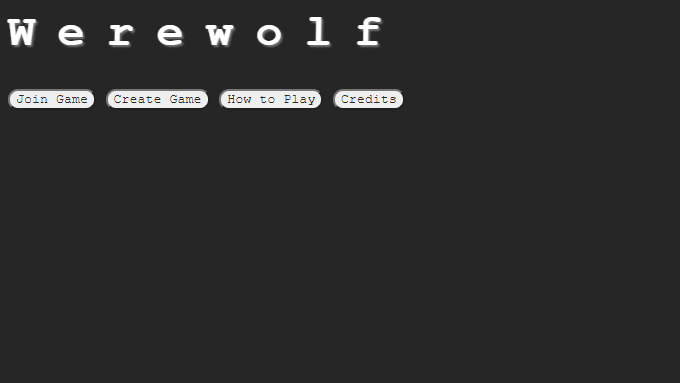 Werewolf, a multiplayer text-based game.